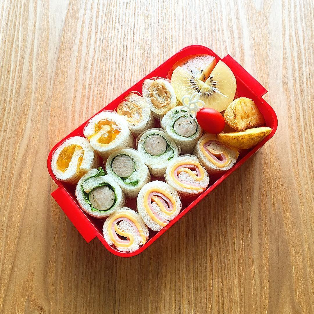 お弁当にぴったりの「ロールサンドイッチ」作り方とコツ!レシピ