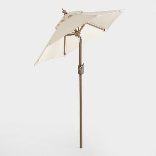 With The Push Of A Button Our Umbrella Frame Tilts At A