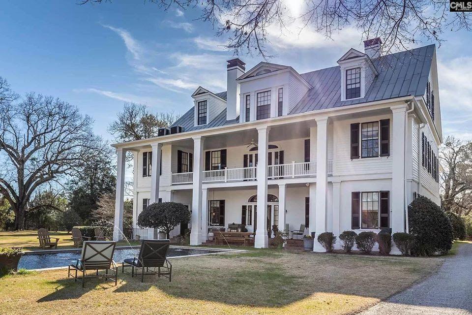 1840 Antebellum In Camden South Carolina — Captivating