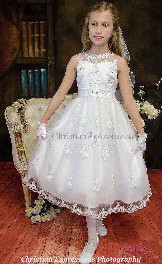5347038ab1a First Communion Dress Style Emma
