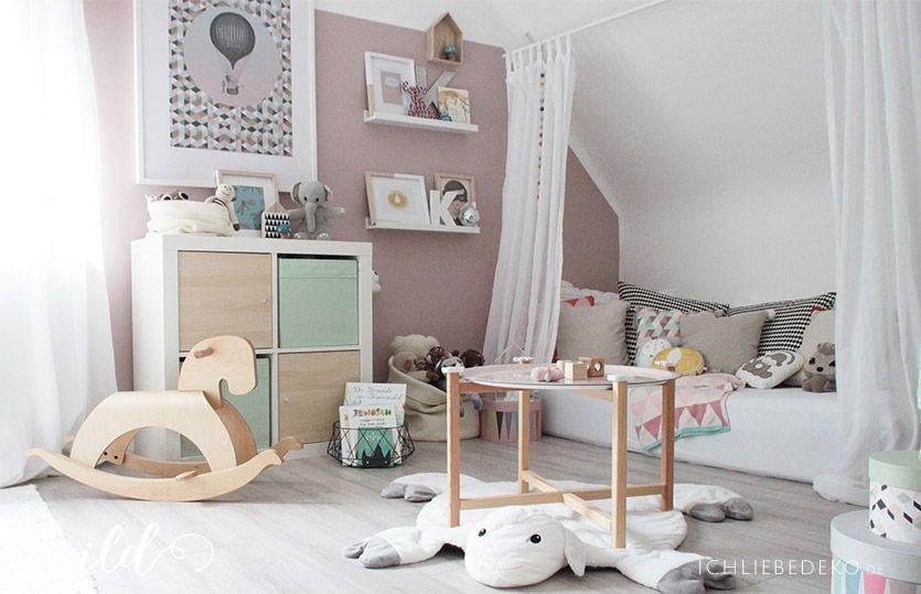 Kinderzimmerdeko in zarten Pastellfarben mit Ava & Yves