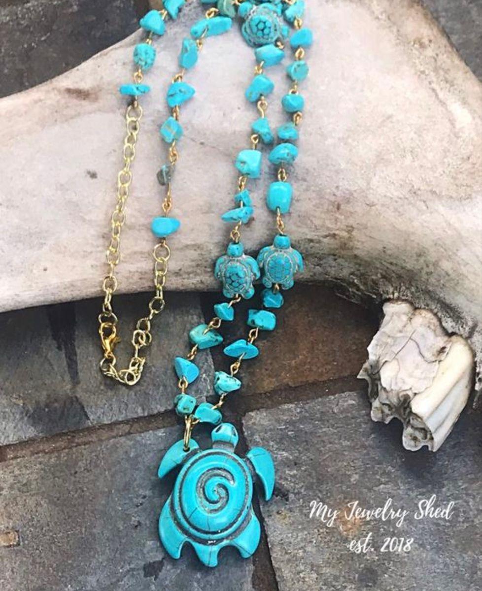 #turtles #turtlejewelry #pendant #giftforher #turquoisejewelry