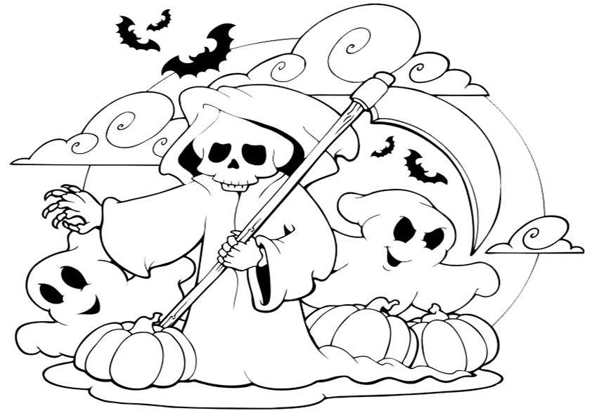 Fein Malvorlagen Für Kinder Halloween Ideen - Entry Level Resume ...