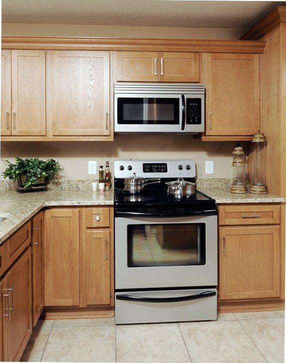 pre finished shaker style oak kitchen cabinets ship everywhere rta ...