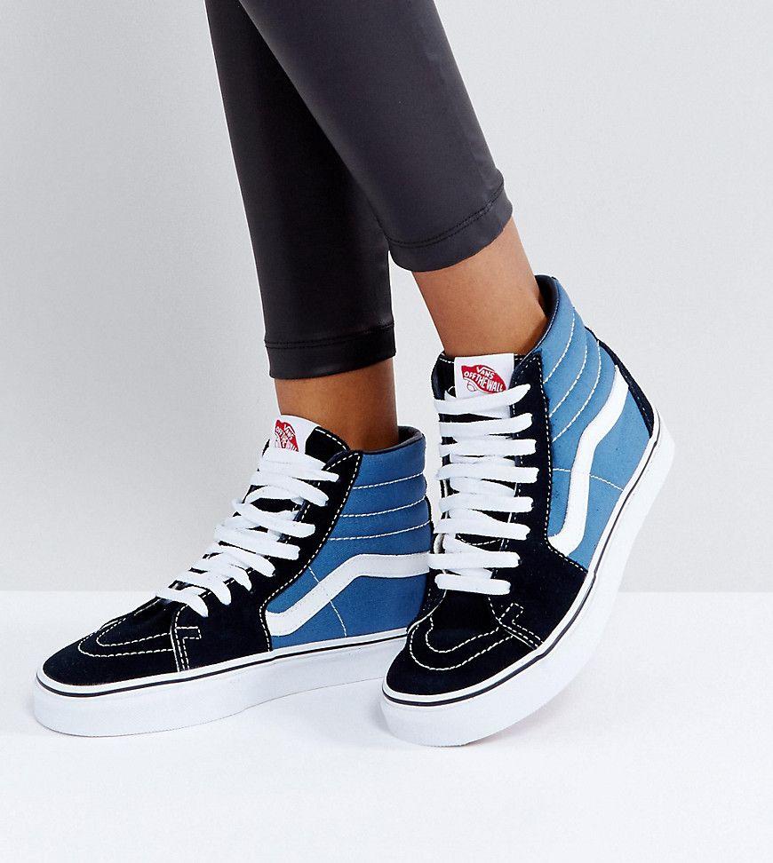 sale retailer 45ab9 6fee9 Damen Vans Classic -Sk8 Sneaker mit hohem Schaft in und ...