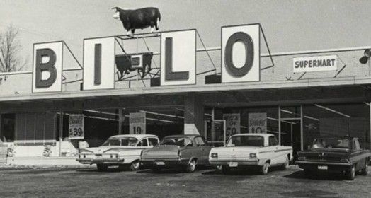 The first BI-LO grocery store began in 1961 by Frank L Outlaw near