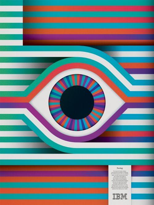 IBM think exhibit posters.