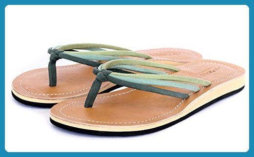 Amboss Damen Sandale Zehentrenner mit Echt Leder Gr.37 Farbe Pink cuywaNaU