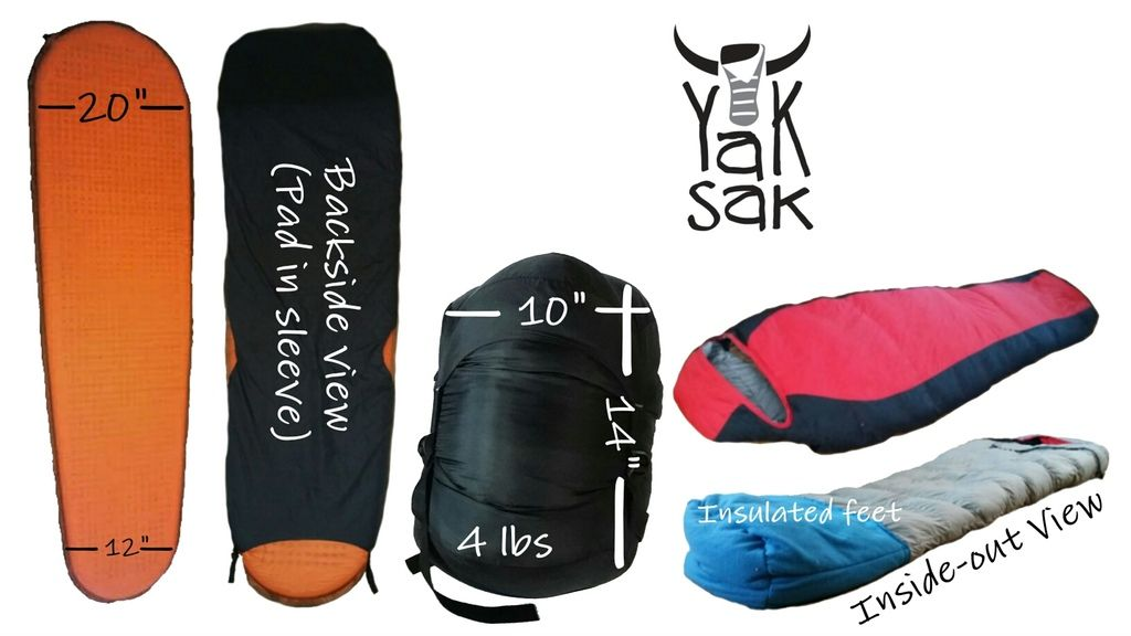 Our New Awesome Kickstarter The Yak Sak Sleeping Bag One For You One For The Homeless Sleeping Bag Hammock Accessories Are You The One
