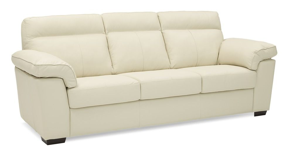 White Leather Sofa In Contemporary Design Quality Leather Sofa S