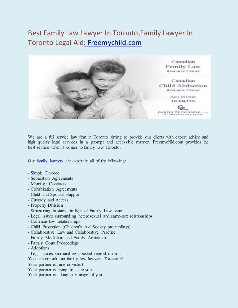 Best Family Law Lawyer In Toronto,Family Lawyer In Toronto