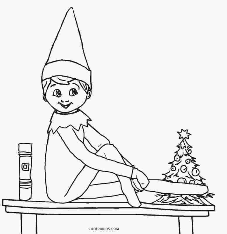 Elf On The Shelf Coloring Pages Boy Learning Printables For Boy Coloring Elf Learning En 2020 Elfe De Noel Lutins Farceurs Elfe