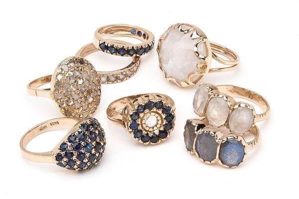 LAs jewelry designers light up the scene Gold fashion Stone