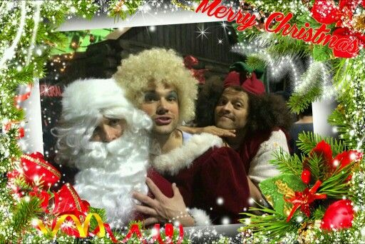 Merry Christmas from..J2 and Misha..?