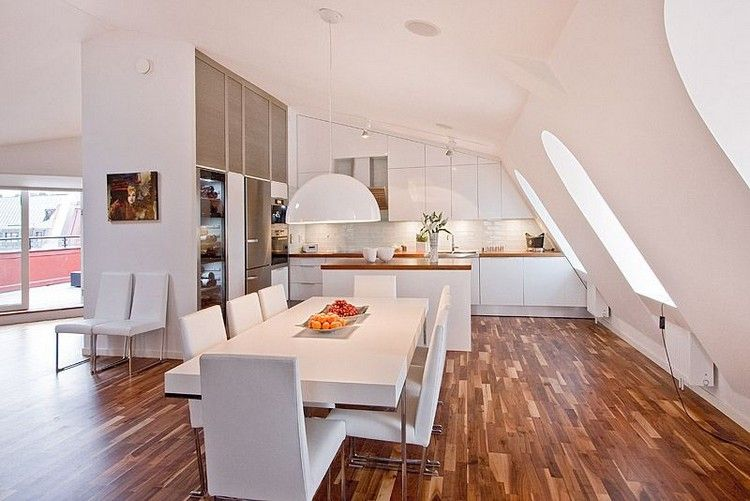 55 Dachschräge Ideen – Möbel geschickt im Raum platzieren | küche ...