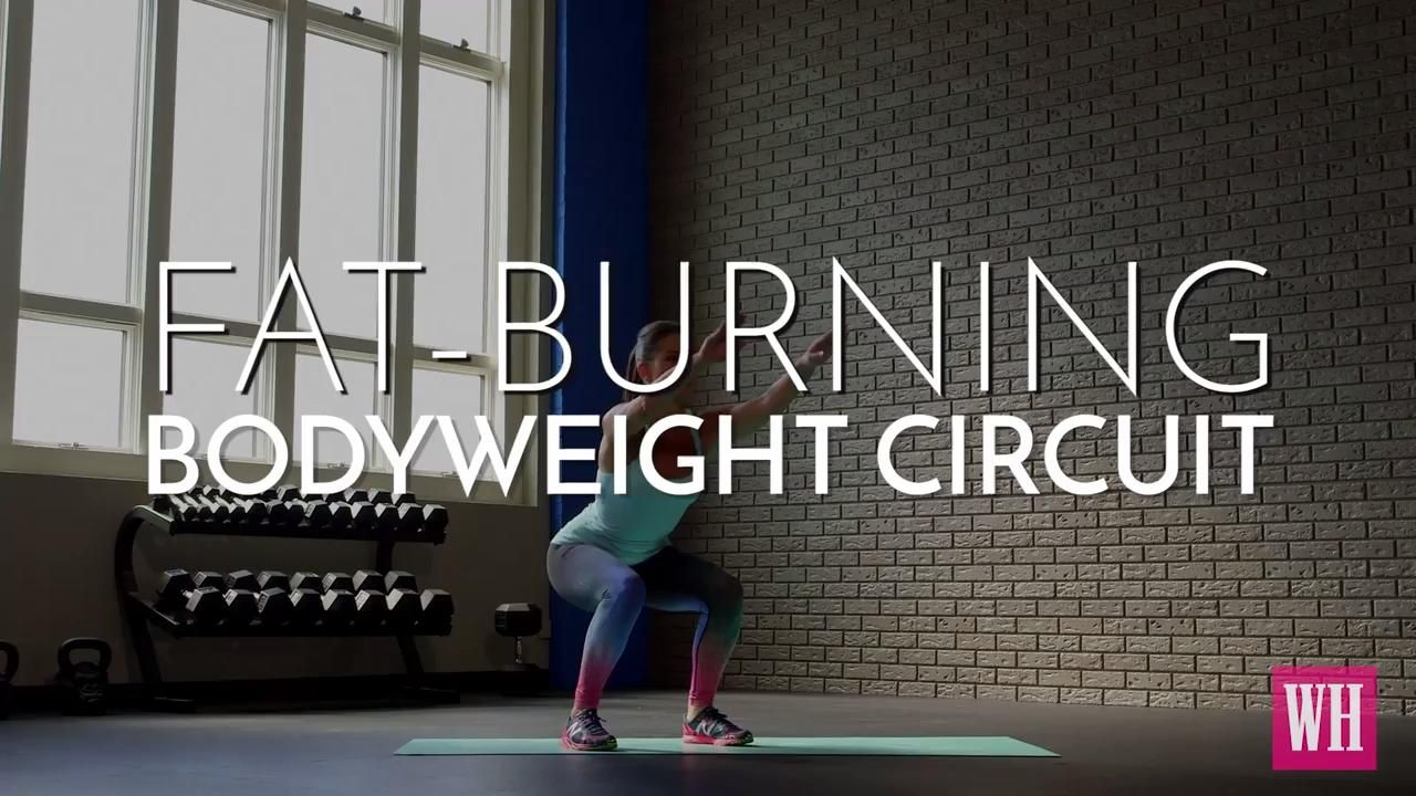 Fat-Burning Bodyweight Circuit