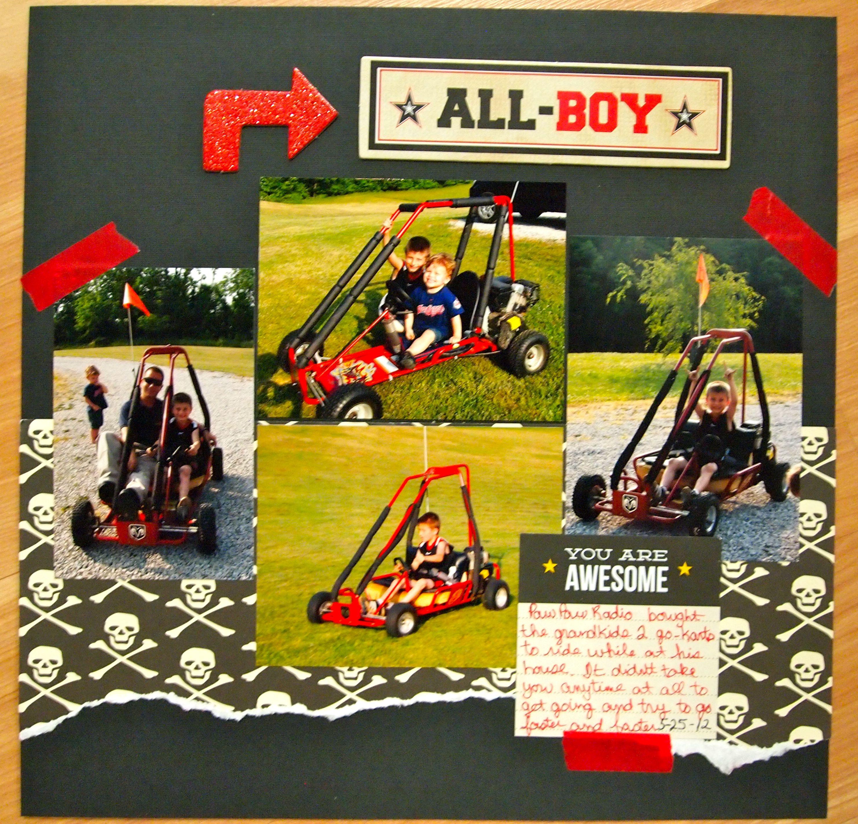 All Boy All Boy - Scrapbook.com