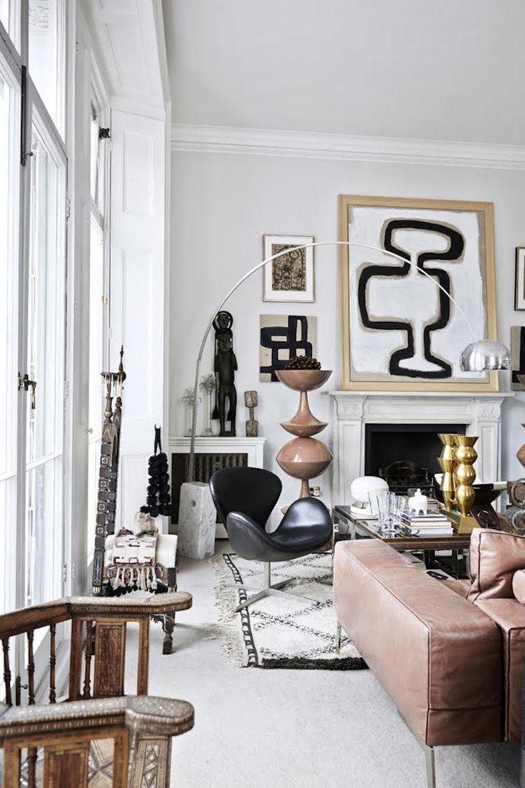 Modern living home room designs interior spaces also rh pinterest