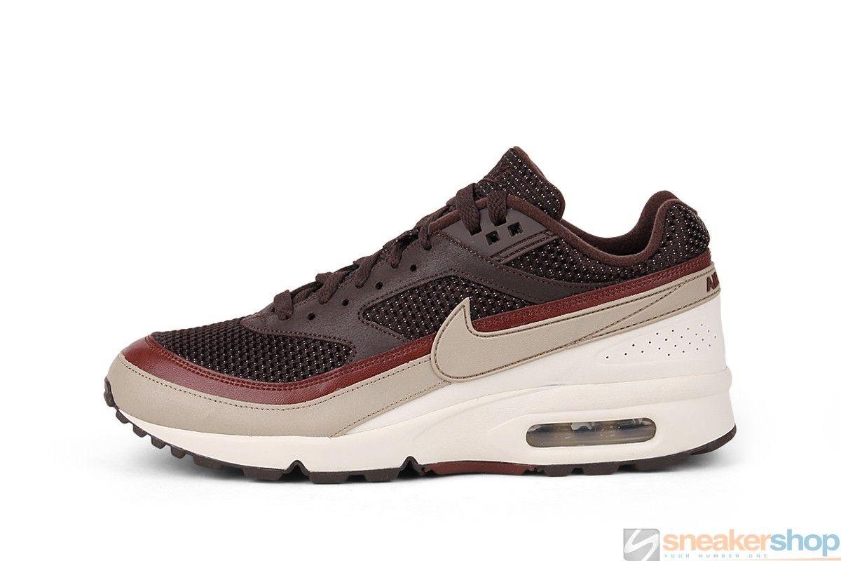 Nike Air Classic BW (Dark Cinder Red-Brownstone-Soft Pearl)  17e1f2ea6