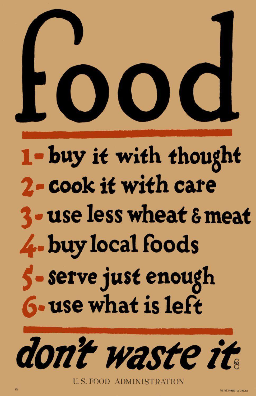 vintage posters for kitchen mats walmart food poster print digitally remastered world war i era home art