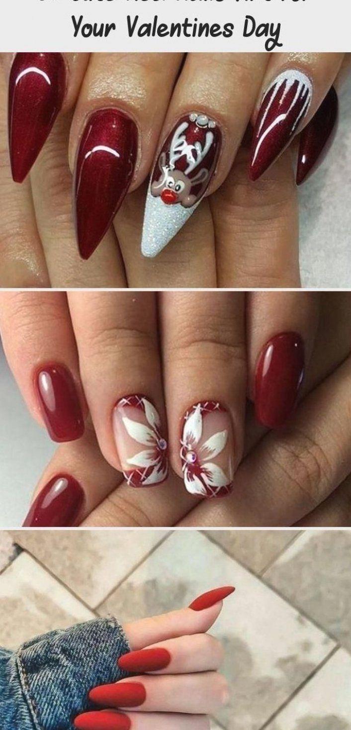 En Blog     En Blog -  Cute Red Nails Art For Your Valentines Day 58  NailArtGalleriesFrenchTips  NailArtGalleriesPolkaDot -  AccentNails  Blog  NailArtGalleries  nails  StilettoNails #manicures #flores #manicures #glitter #manicures #whit #nail #art #galleries #summer