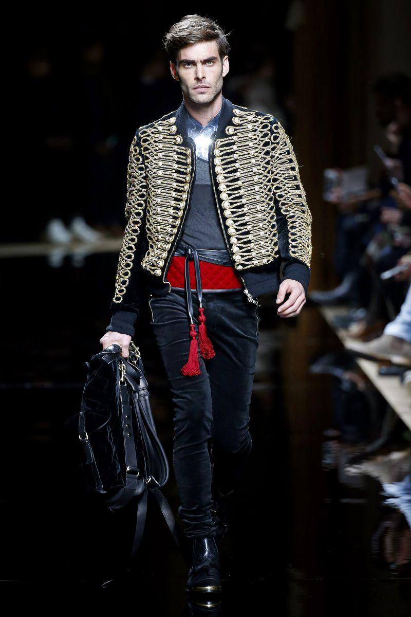 Balmain | Menswear - Autumn 2016 | Look 1