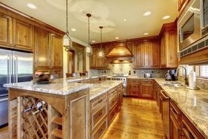 The Best Color Granite Countertop For Honey Oak Cabinets Hunker