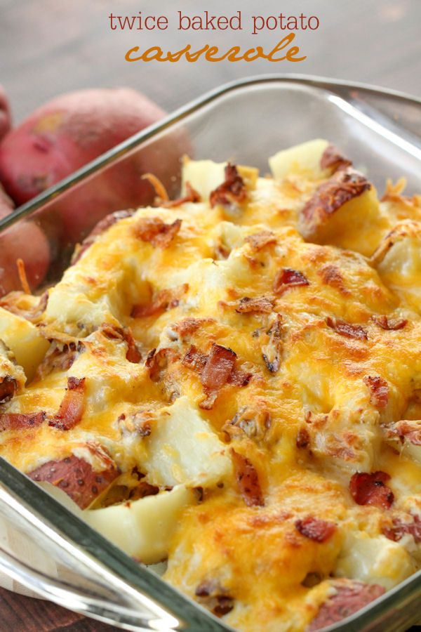 Twice Baked Potato Casserole Recipe Video Lil Luna Recipe Twice Baked Potatoes Casserole Potatoe Casserole Recipes Recipes