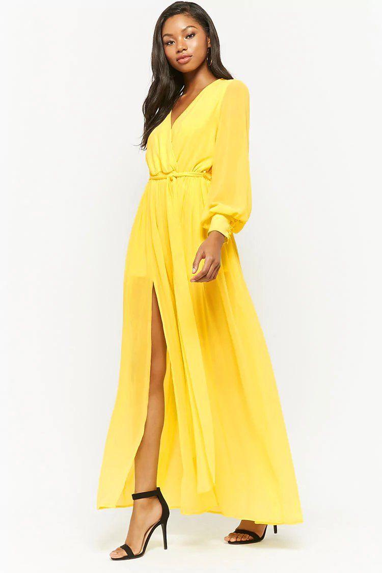 e82ac54b4 Chiffon Maxi Dress | Forever21 | forever 21 | now trending in 2019 ...