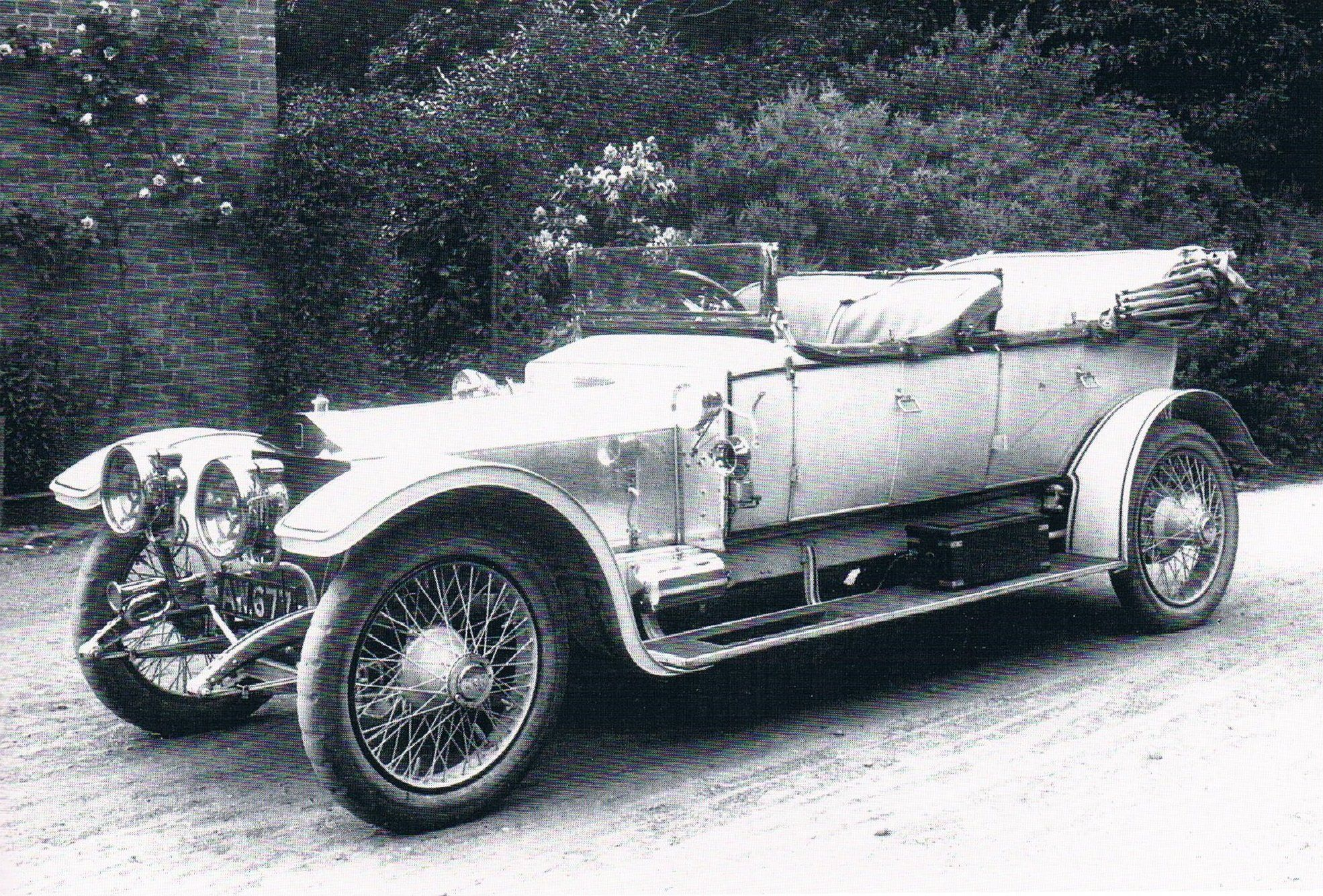 1910 Tourer by Barker (chassis 1324) for James Monro-Walker