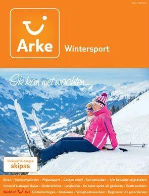 Arke Wintersport: Sterk> Duidelijk waar de brochure over gaat. Zwak> Vrij simpel.