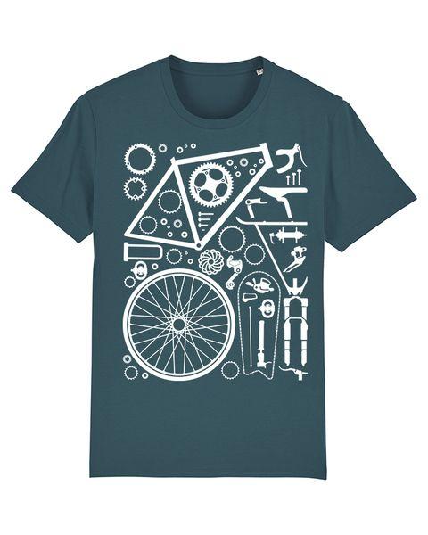 Photo of wat? Apparel Fahrradteile | T-shirt Herren