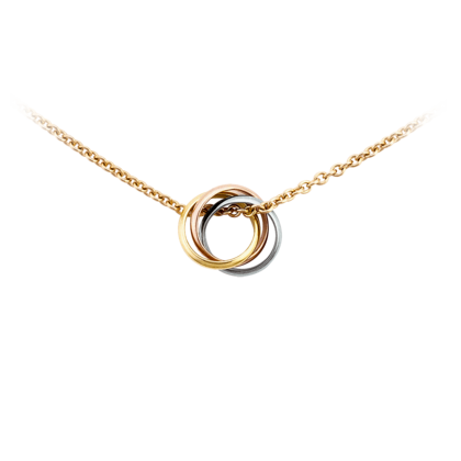 Collier baby Trinity - 3 ors, or jaune - Colliers de luxe pour femme -  Cartier f75fbb094f90