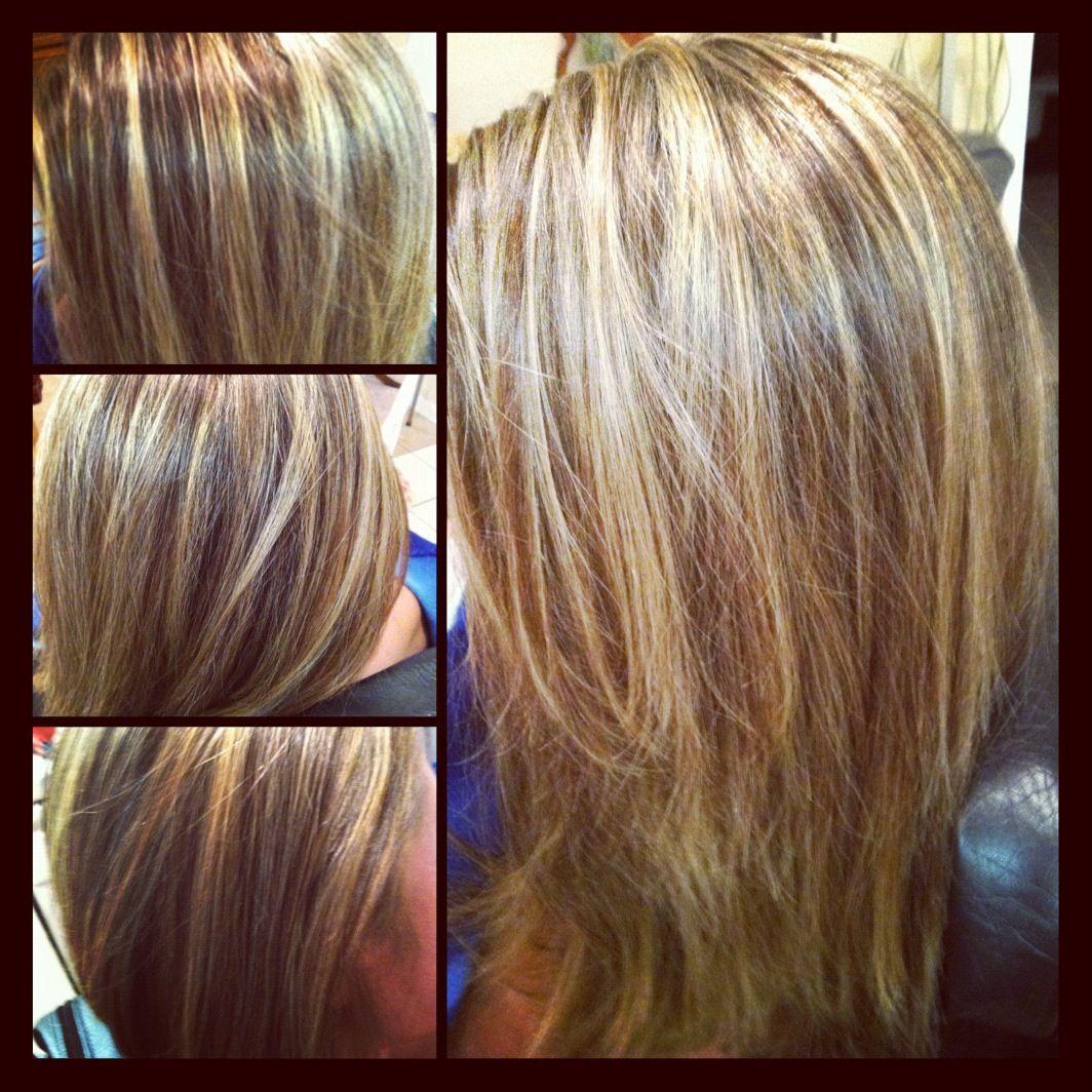 Highlightlowlights hair and makeup pinterest hair style hair