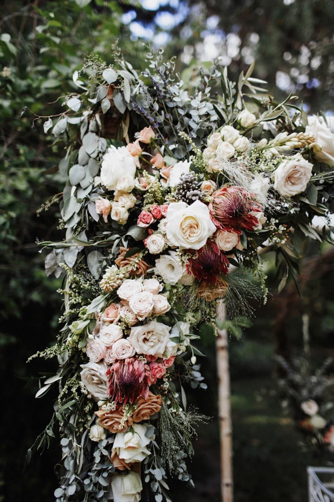 this albuquerque wedding took cues from the natural beauty