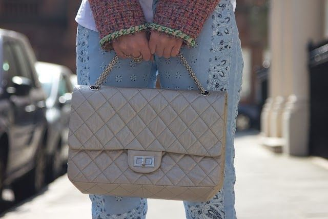 Chanel 2.55 Reissue - The Handbag Concept   Chanel in 2018 ... b61d9ea18b