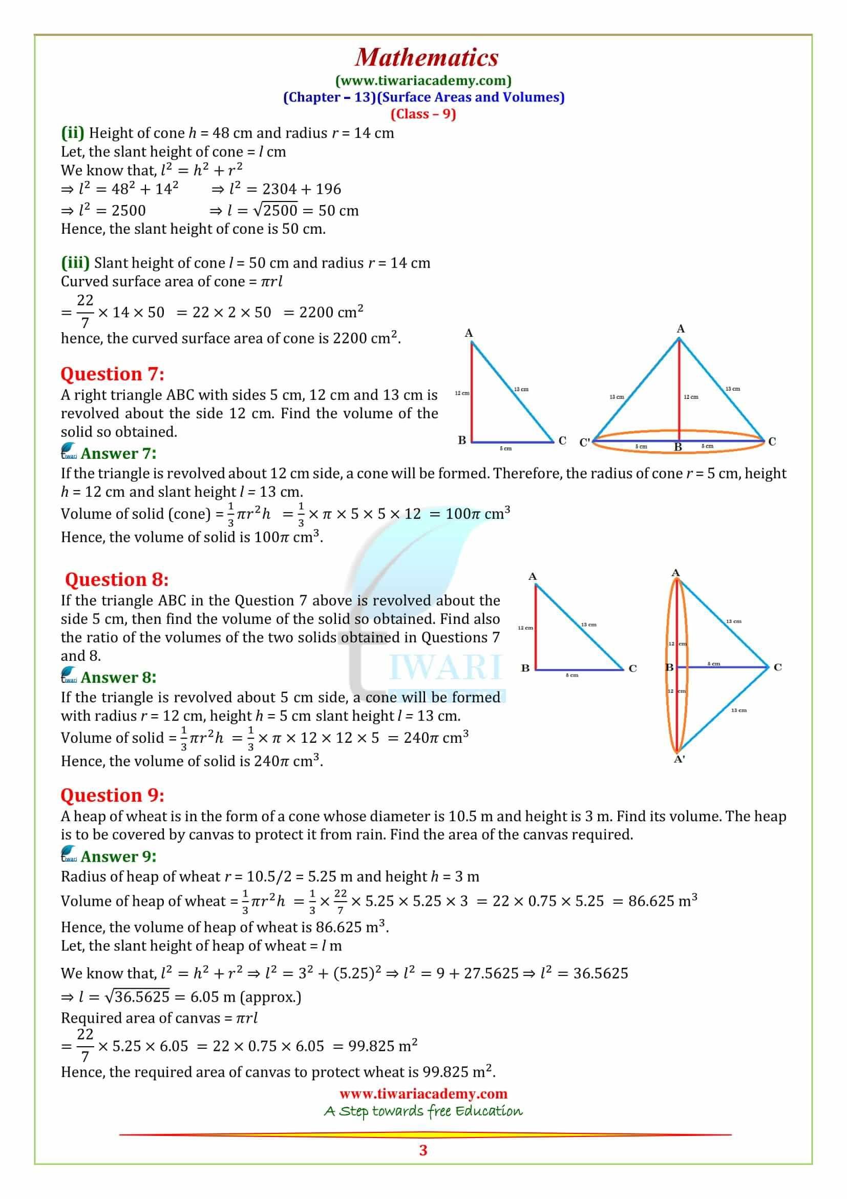 Ncert Solutions For Class 9 Maths Maths Ncert Solutions Math Basic Math [ 2339 x 1654 Pixel ]
