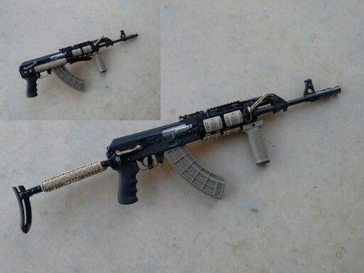 M70 AB2 Yugo Underfolder AK 47, UTG Quad Rail and Tapco