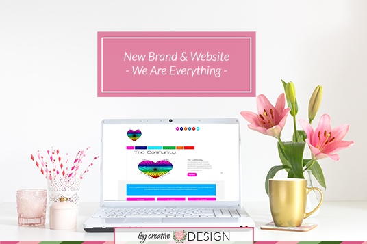 New Brand And Website For We Are Everything