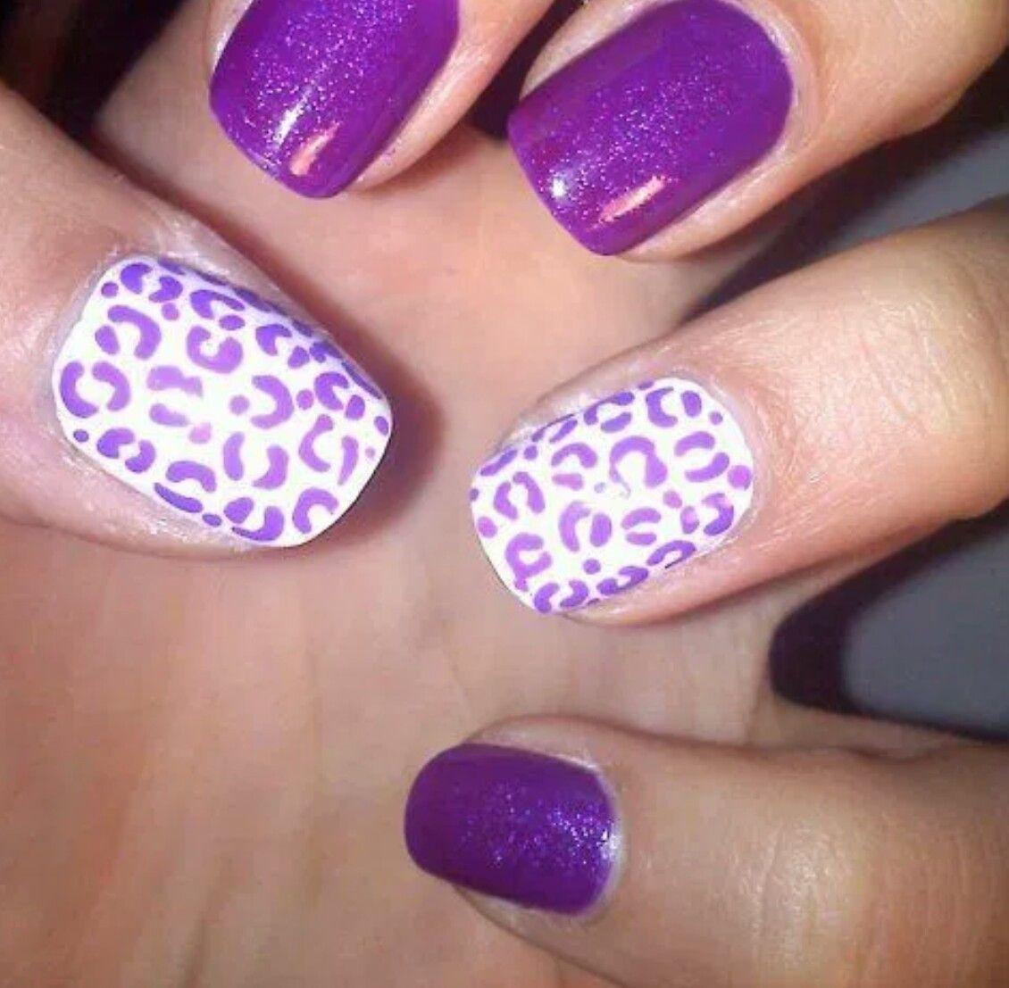 Anytime Nails by Jessica Riley | Purple nail designs, Nail ...