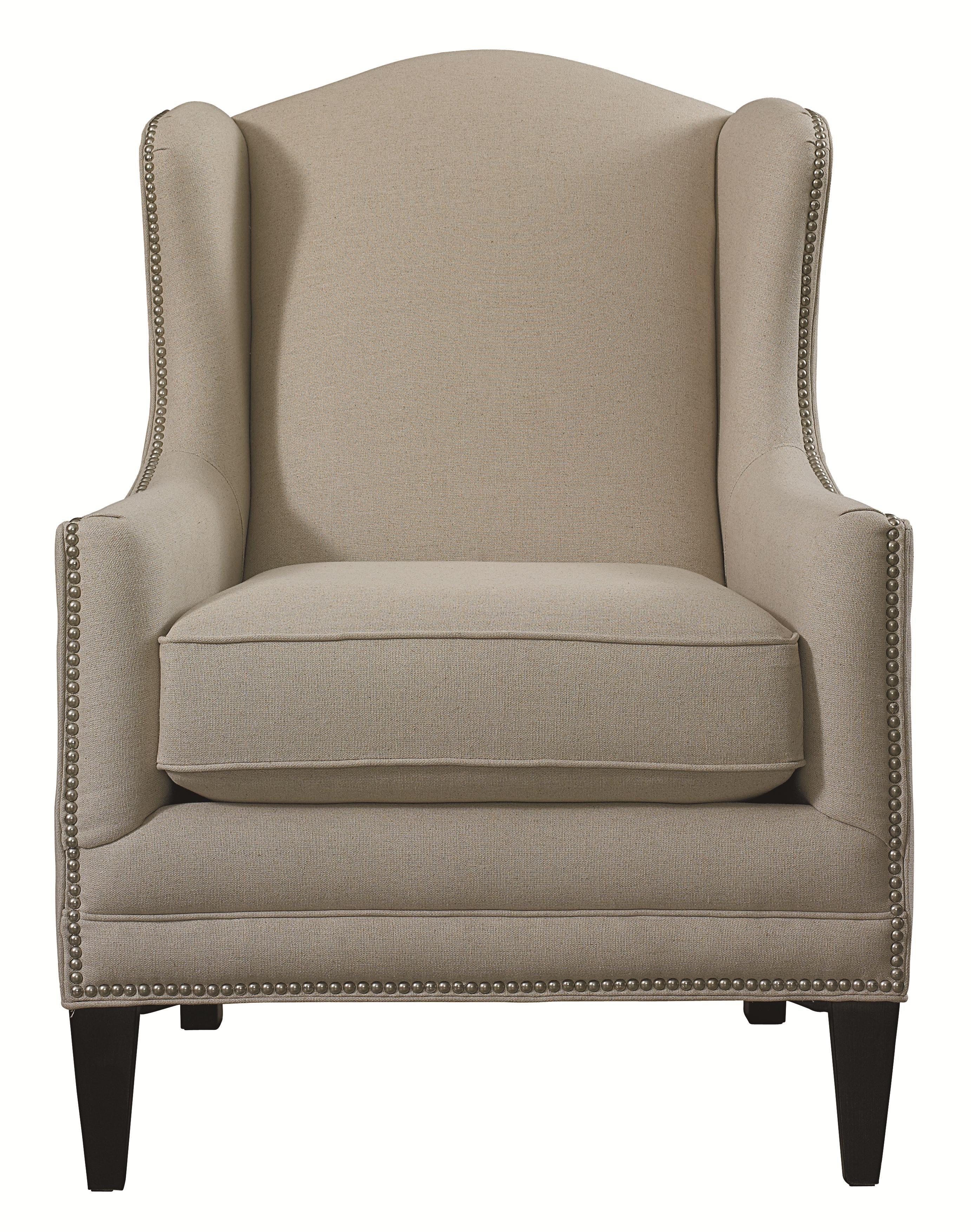 Accent Chairs By Bassett Fleming Accent Chair With Wing