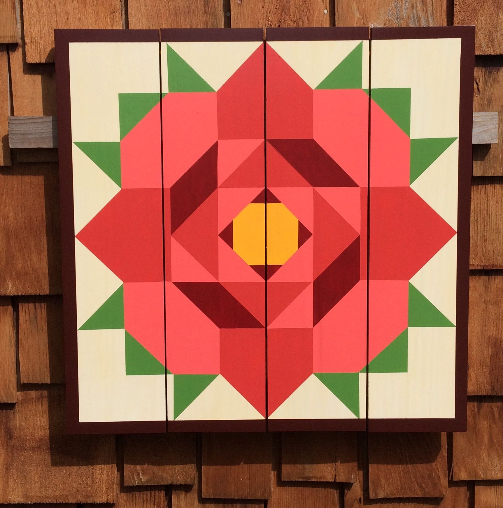 Coloring pages quilt squares - Rose Barn Quilt Barn Quilts By Chela
