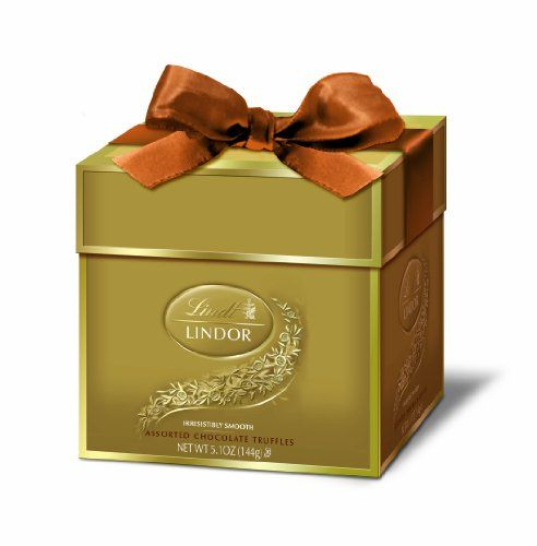 Lindt Lindor Truffles, Assorted Token Gift Box, 5.1 Ounce Package ...
