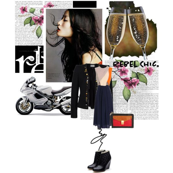motorcycle chic