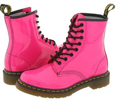 Dr Marten's digital boots | Pink boots