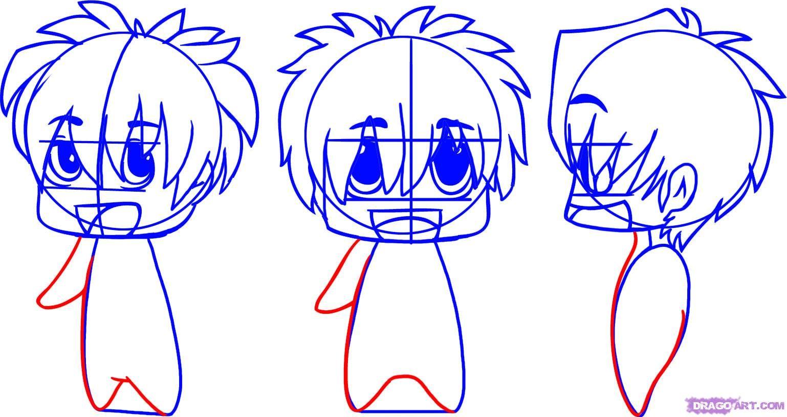 How To Draw Chibi Anime? | Shijufasu's Blog