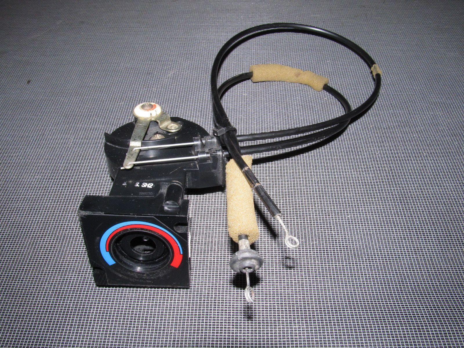 88 89 Honda CRX OEM Climate Control Heat Adjustment Switch & Cable ...