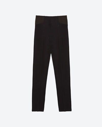 e716ef133e5 Image 8 of BODY SHAPING LEGGINGS from Zara Pajama Pants, Zara, Treggings,  Suits