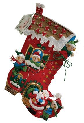 Holiday Decorating Bucilla Christmas Stocking Kit Navidad