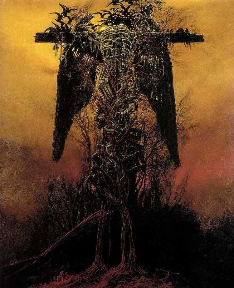 Zdzisław Beksiński, Dystopian Dark Surrealism